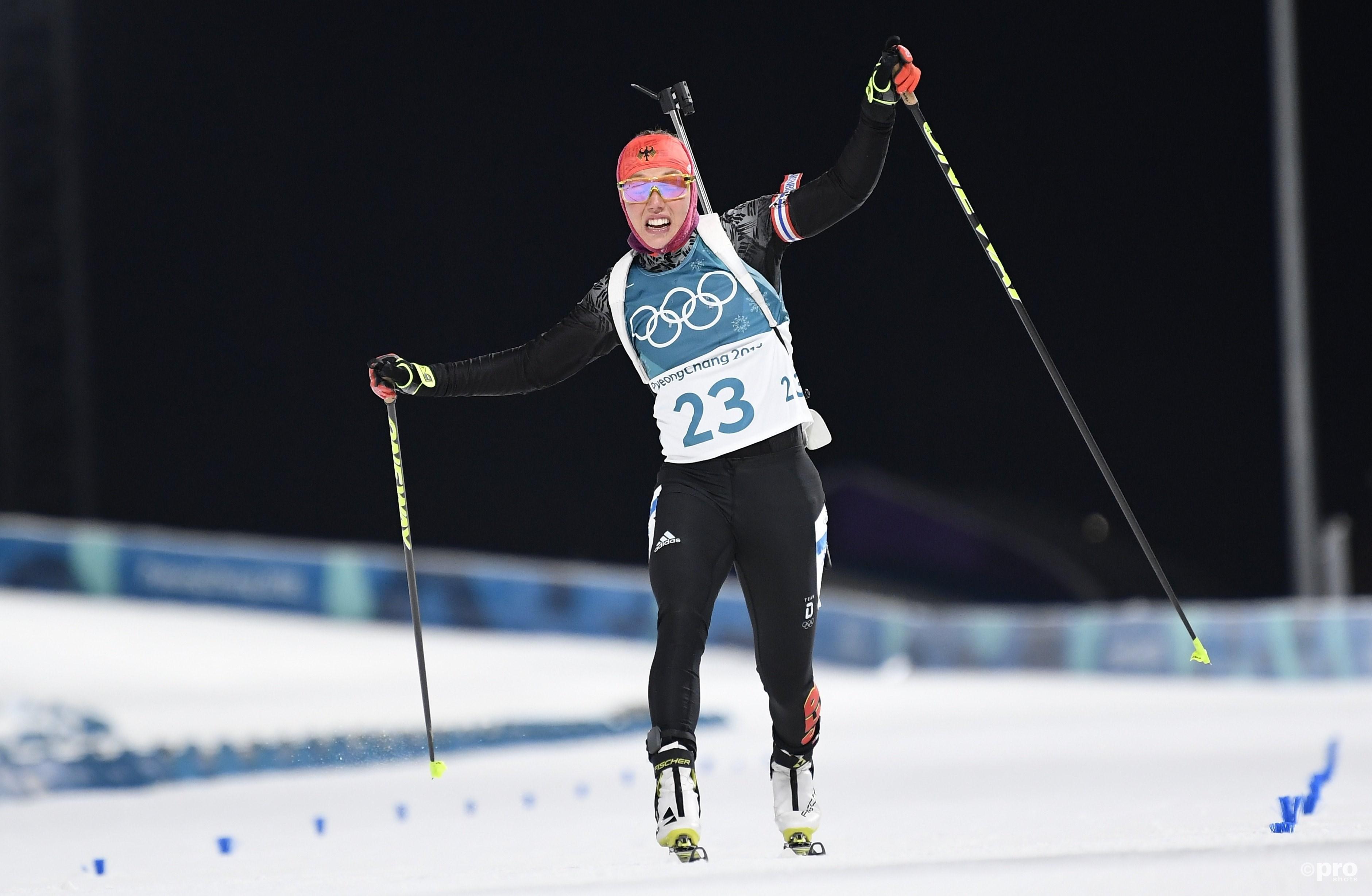 Dahlmeier zet de tijd neer die uiteindelijk goed blijkt voor olympisch goud (Pro Shots/Action Images)