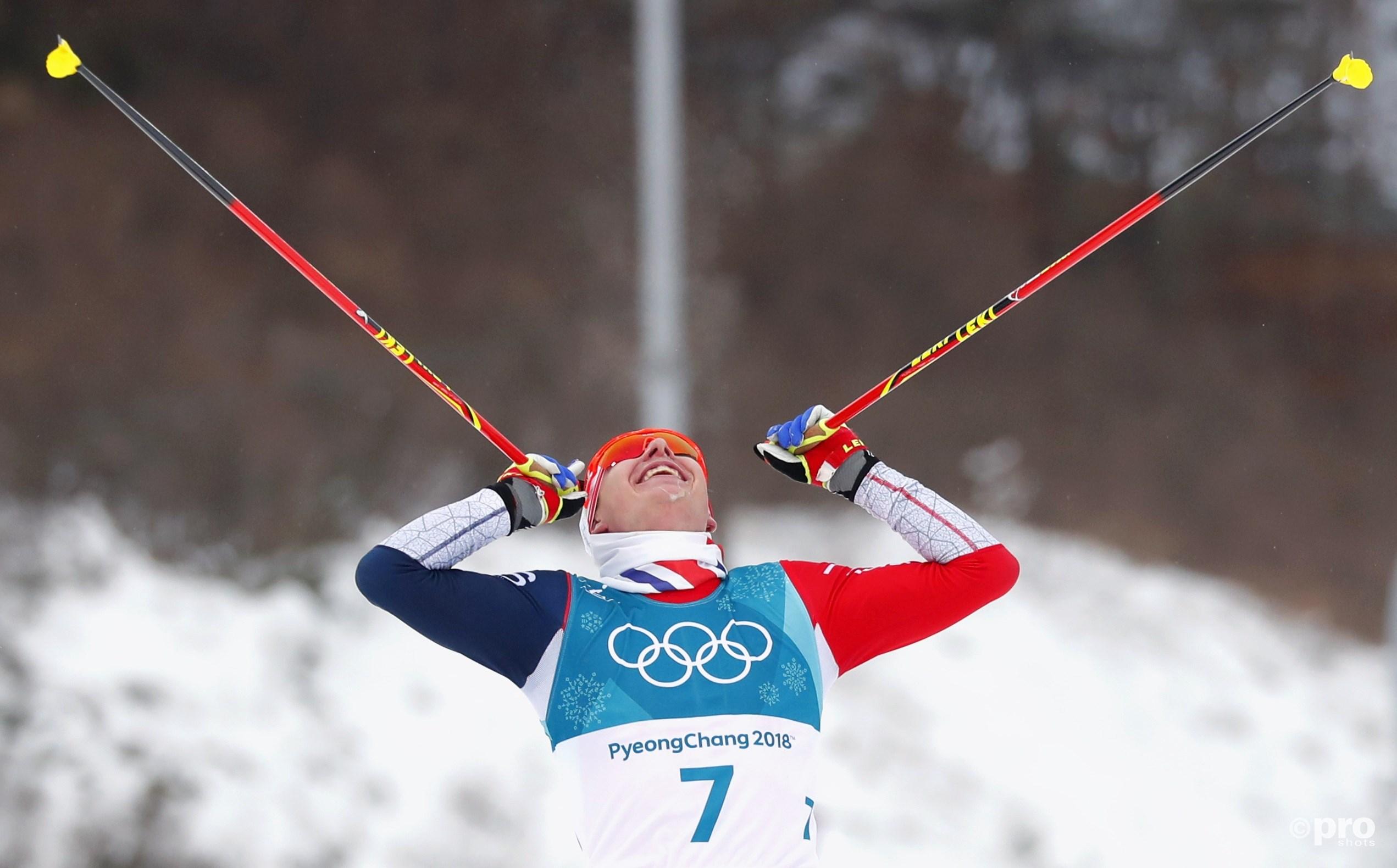 Krüger komt solo over de streep als de verrassende nieuwe olympisch kampioen (Pro Shots/Action Images)