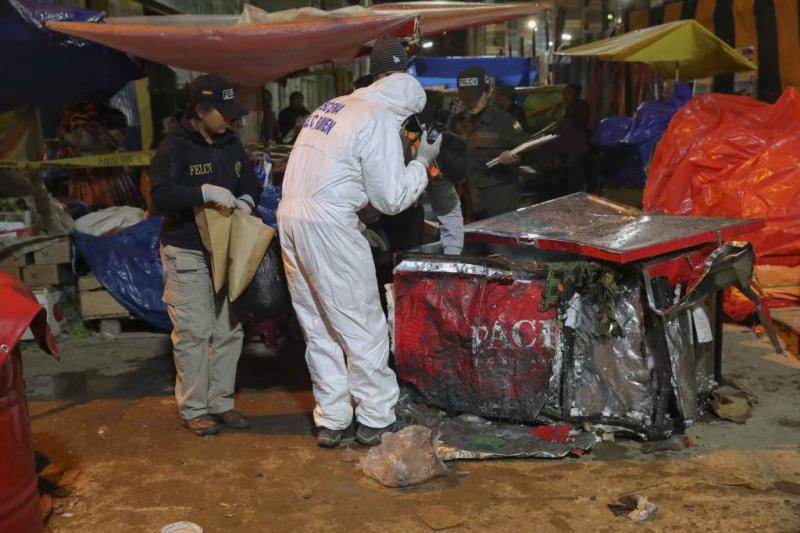 Doden door explosie tijdens carnaval Bolivia