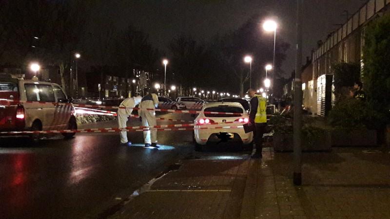 Arrestatie in liquidatiezaak Rhijnauwensingel Rotterdam (foto: Politie.nl)