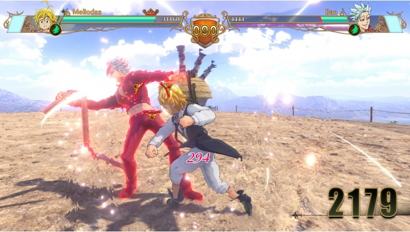 The Seven Deadly Sins: Knights of Britannia - Meliodas vs Ban (Foto: Bandai Namco)