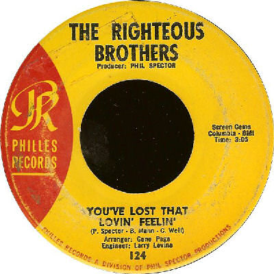 01 The Righteous Brothers - You've Lost That Lovin' Feelin'