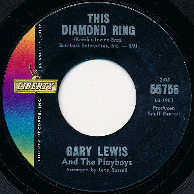 03 Gary Lewis And The Playboys - This Diamond Ring