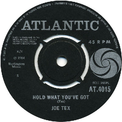 06 Joe Tex - Hold What You've Got