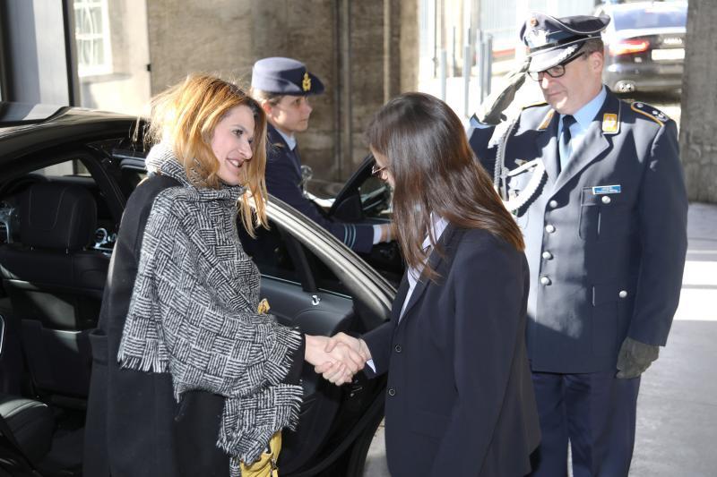 Staatssecretaris bezoekt Duitse collega's (Foto: Defensie)