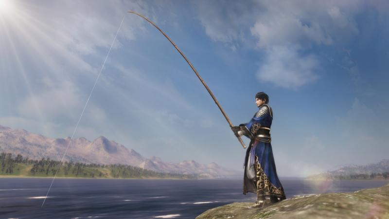Dynasty Warriors 9 - Fishing (Foto: Koei Tecmo)