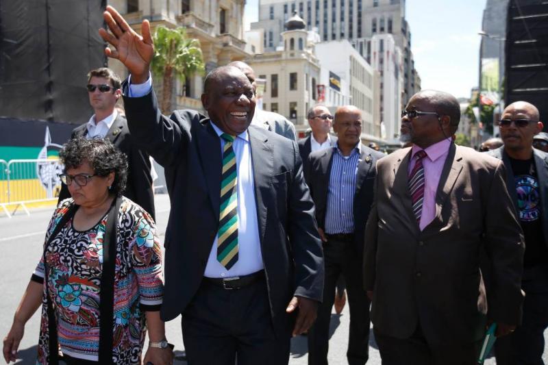 Cyril Ramaphosa nieuwe president Zuid-Afrika