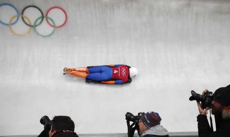 Bos kijkt uit naar haar olympische skeletondebuut (Pro Shots / Action Images)