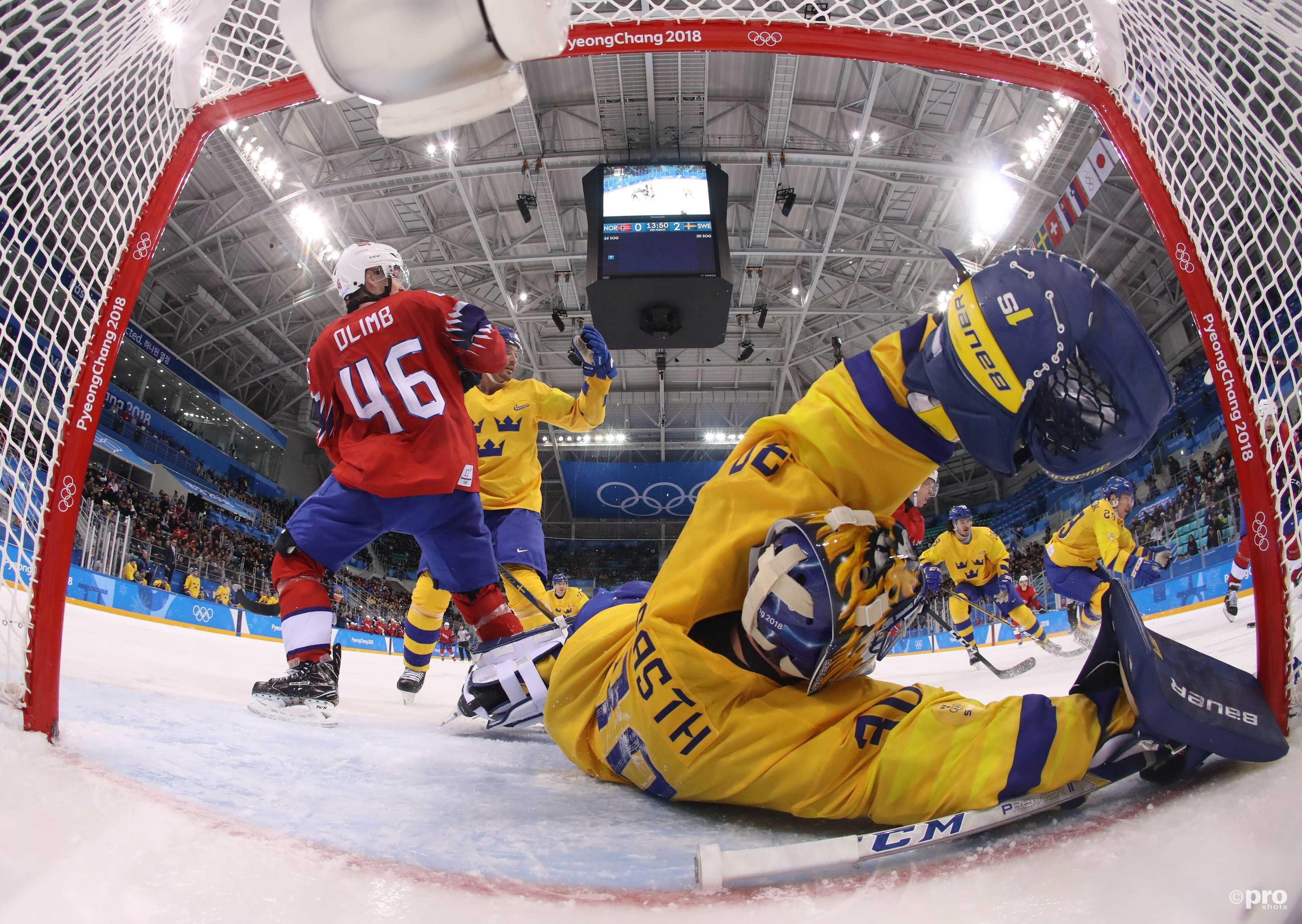 Noorwegen leek te scoren, maar de goal werd op basis van videobeelden afgekeurd wegens een overtreding (Pro Shots/Action Images)