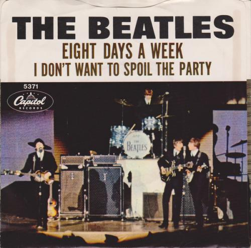 The Beatles - Eight Days A Week (Amerikaanse persing