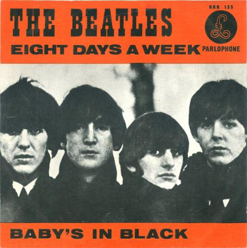 The Beatles - Eight Days A Week (Nederlandse persing)