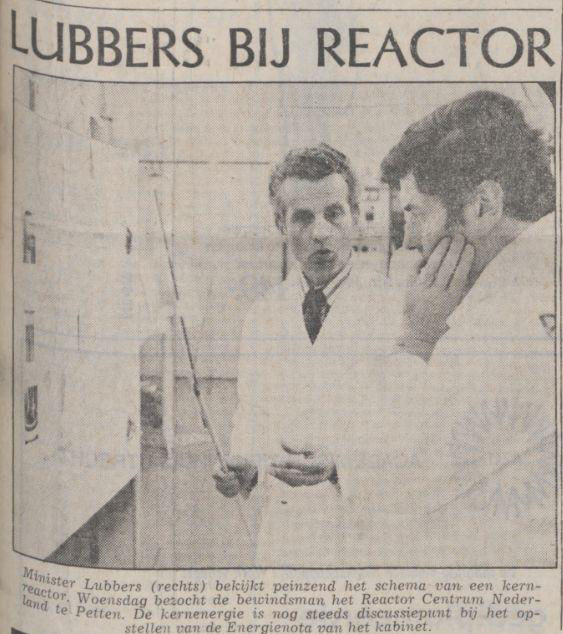 Uit de Volkskrant van 19 september 1974