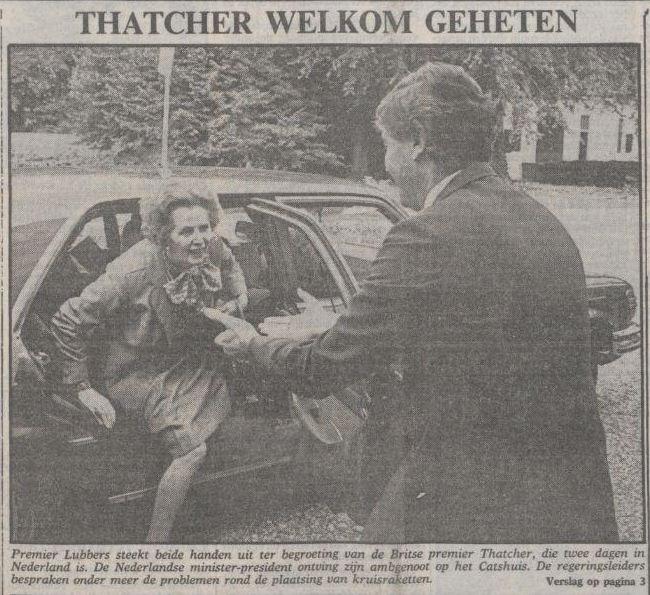 Uit de Volkskrant van 20 september 1983