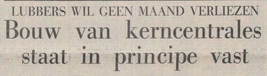 Uit de Volkskrant van 24 oktober 1974