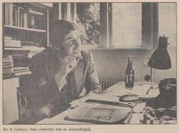 Uit de Volkskrant van 8 mei 1973
