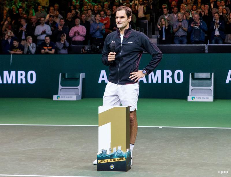 Federer klopt Haase en is oudste nummer een van de wereld (Foto: Pro Shots/David van Haren)