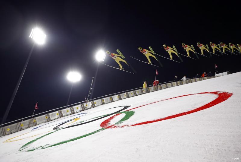 Noriaki Kasai (JPN) in actie op de Olympische Spelen in Pyeongchang (Pro Shots/Action Images)