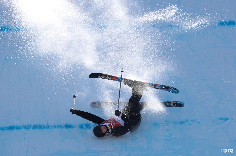 De laatste sprong van Gremaud ging niet helemaal soepel (Pro Shots/Action Images)