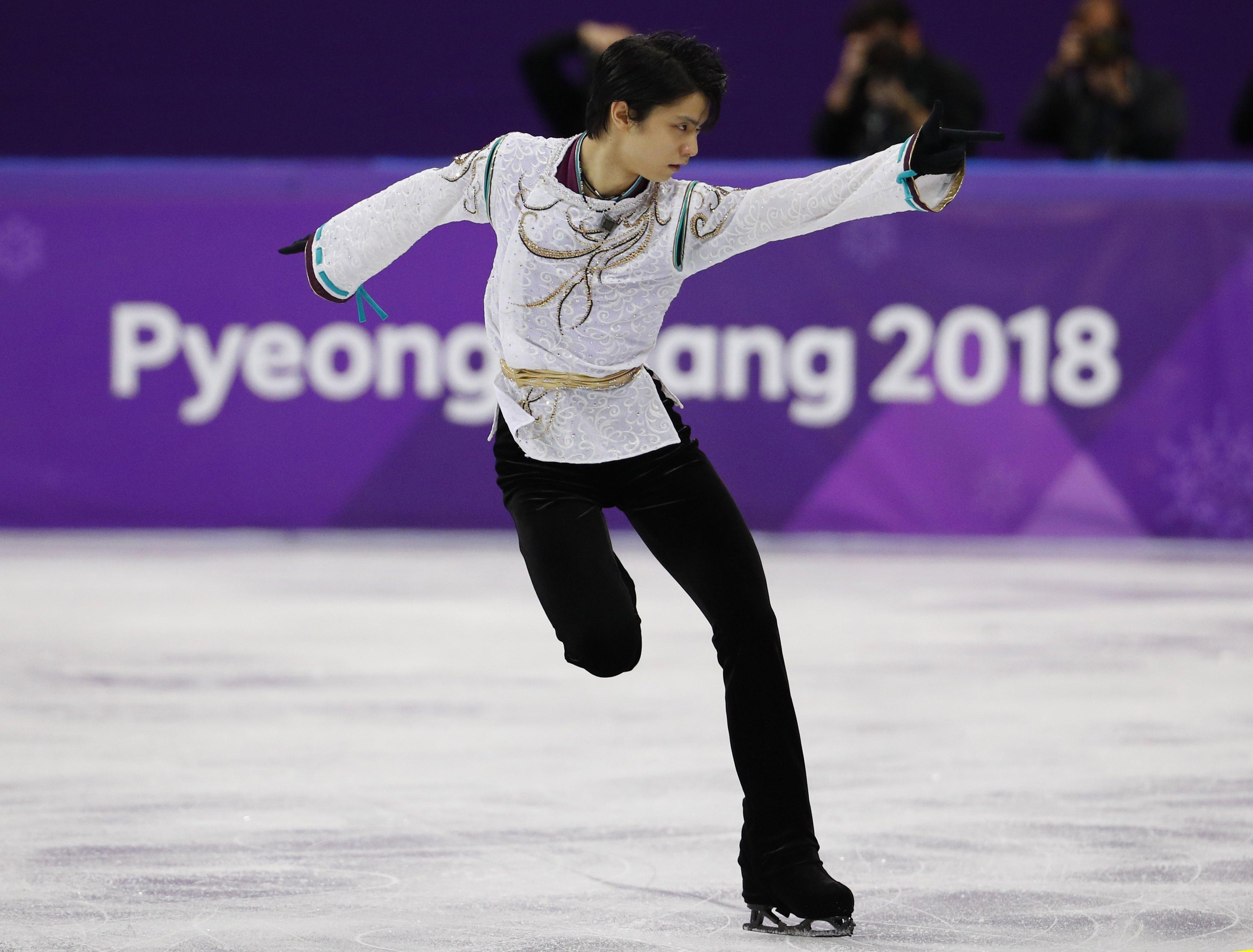 Kunstschaatser Hanyu pakt goud
