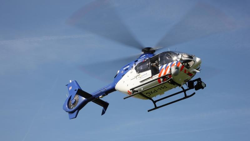 Fransman op de vlucht duikt Vinkeveense plassen in (Foto: Stockfoto politie)
