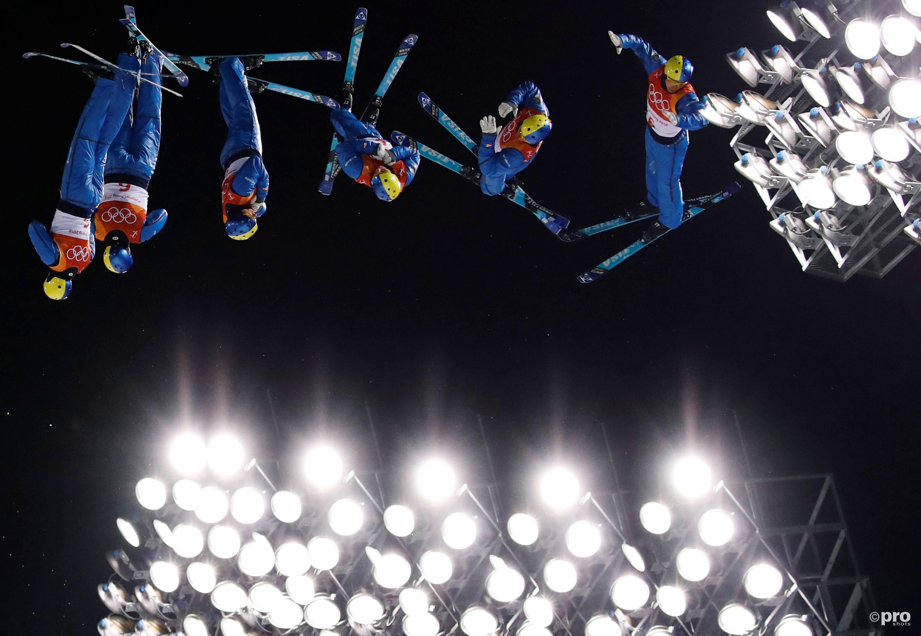 Abramenko vliegt door de lucht op weg naar goud (Pro Shots/Action Images)