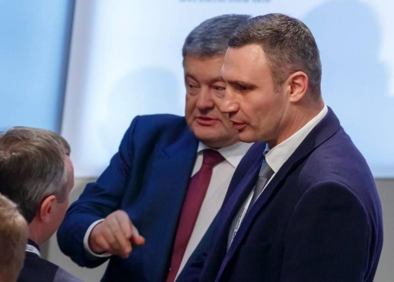 Duizenden demonstreren tegen Porosjenko