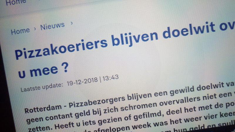 Politie Rotterdam voorspelt de toekomst