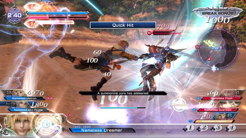 Dissidia Final Fantasy NT - Battle (Foto: Square Enix)