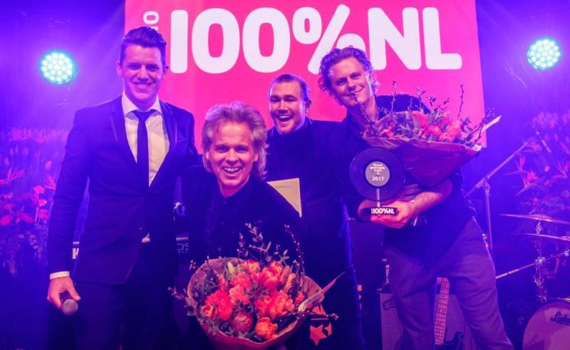 BLØF grote winnaar 100% NL Awards