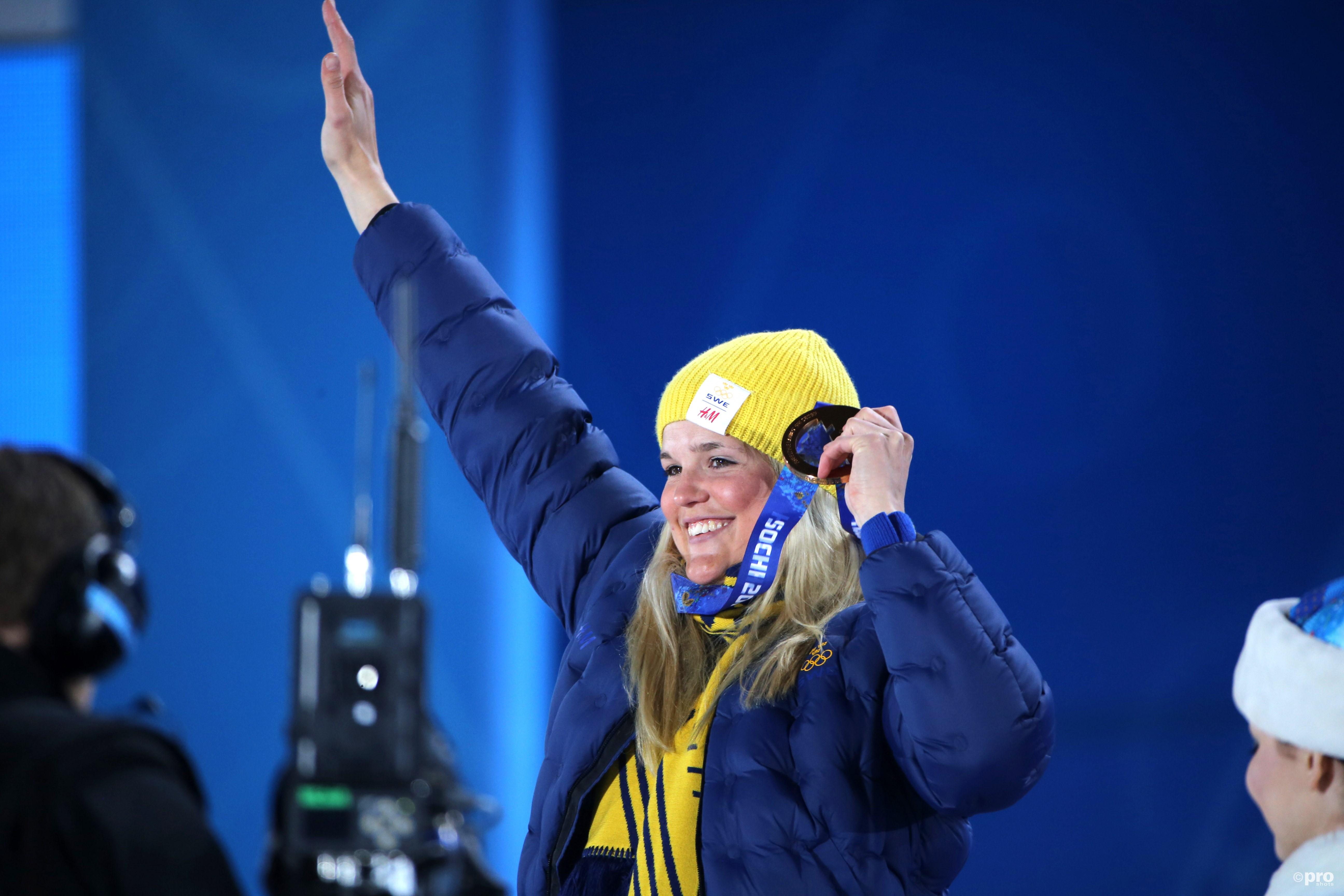 In Sochi won Holmlund nog zilver op de skicross, nu zit ze in een rolstoel en kost zelfs praten enorme moeite (Pro Shot/Gepa)