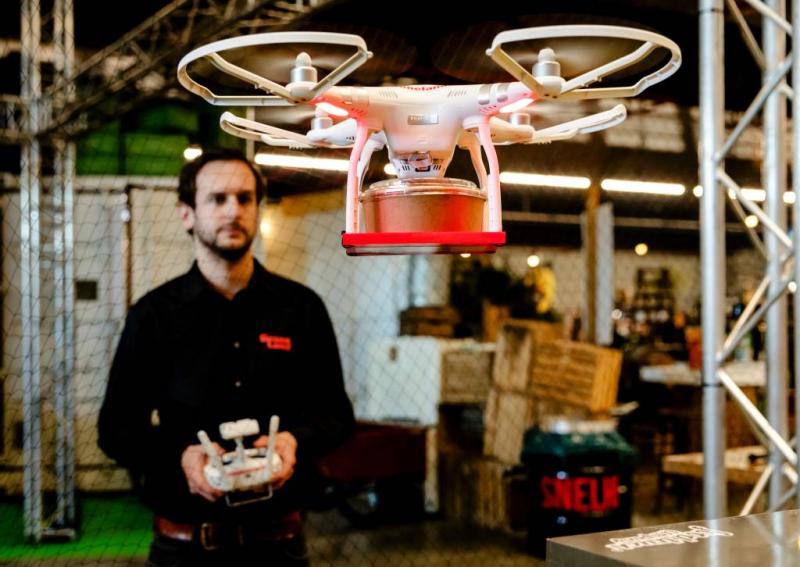 Vodafone test volgsysteem voor drones