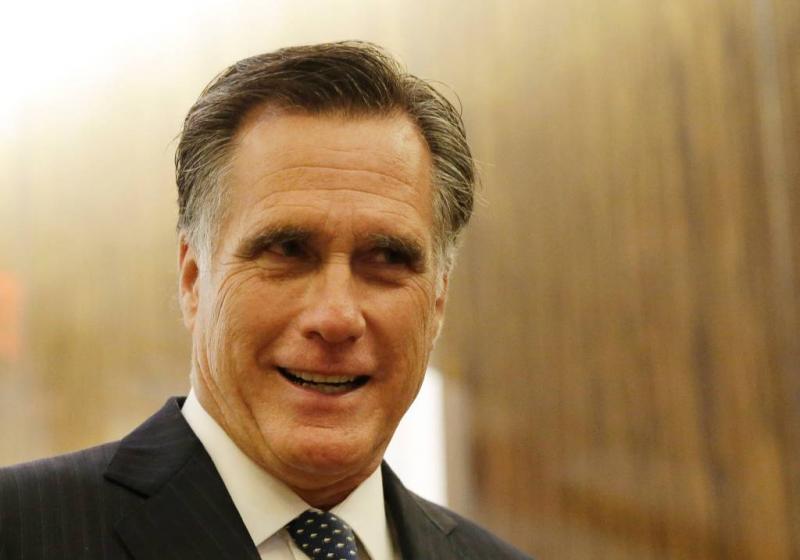 Trump spreekt steun uit voor Mitt Romney