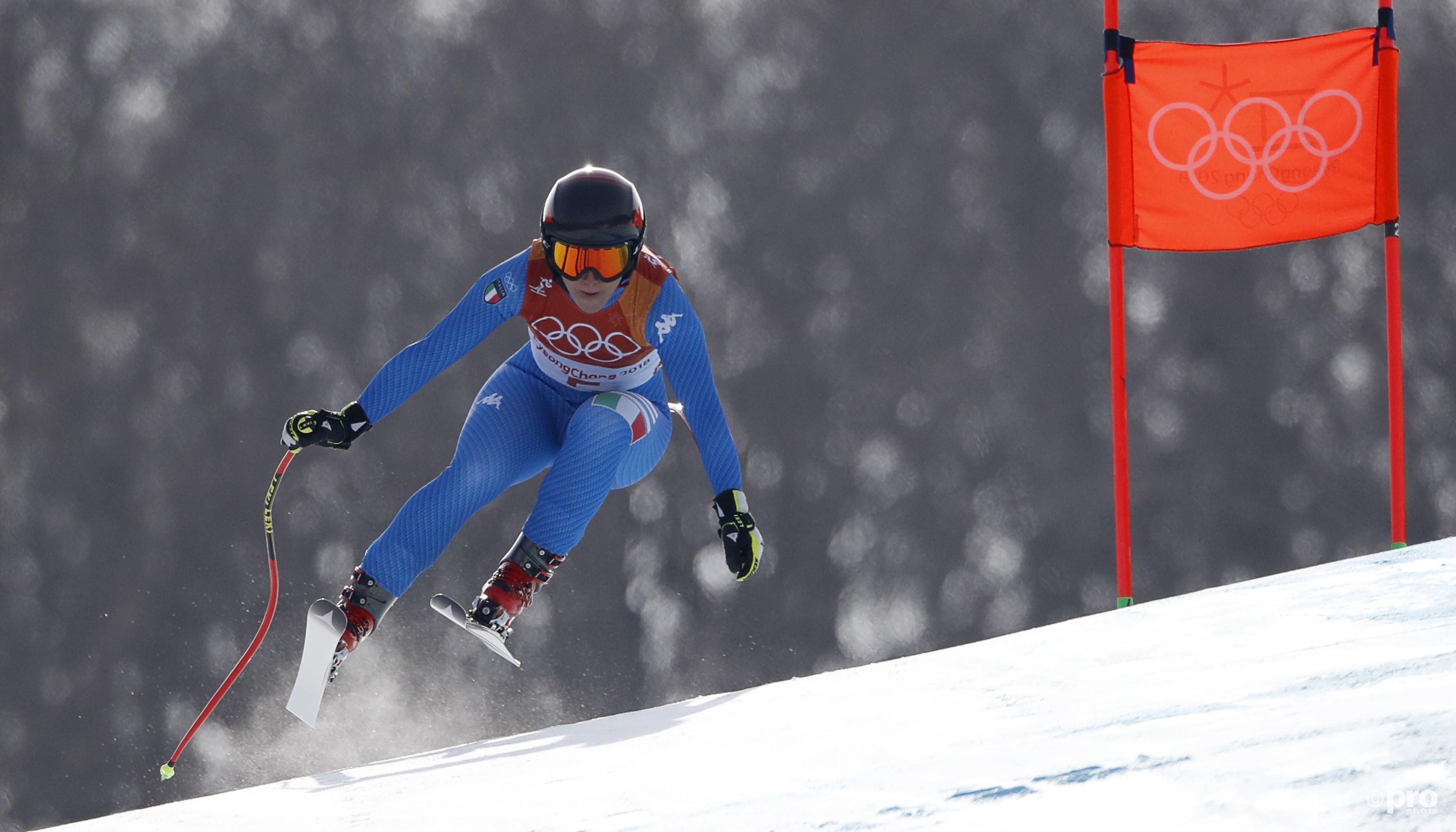Goggia snelt naar beneden, op weg naar olympisch goud (Pro Shots/Action Images)