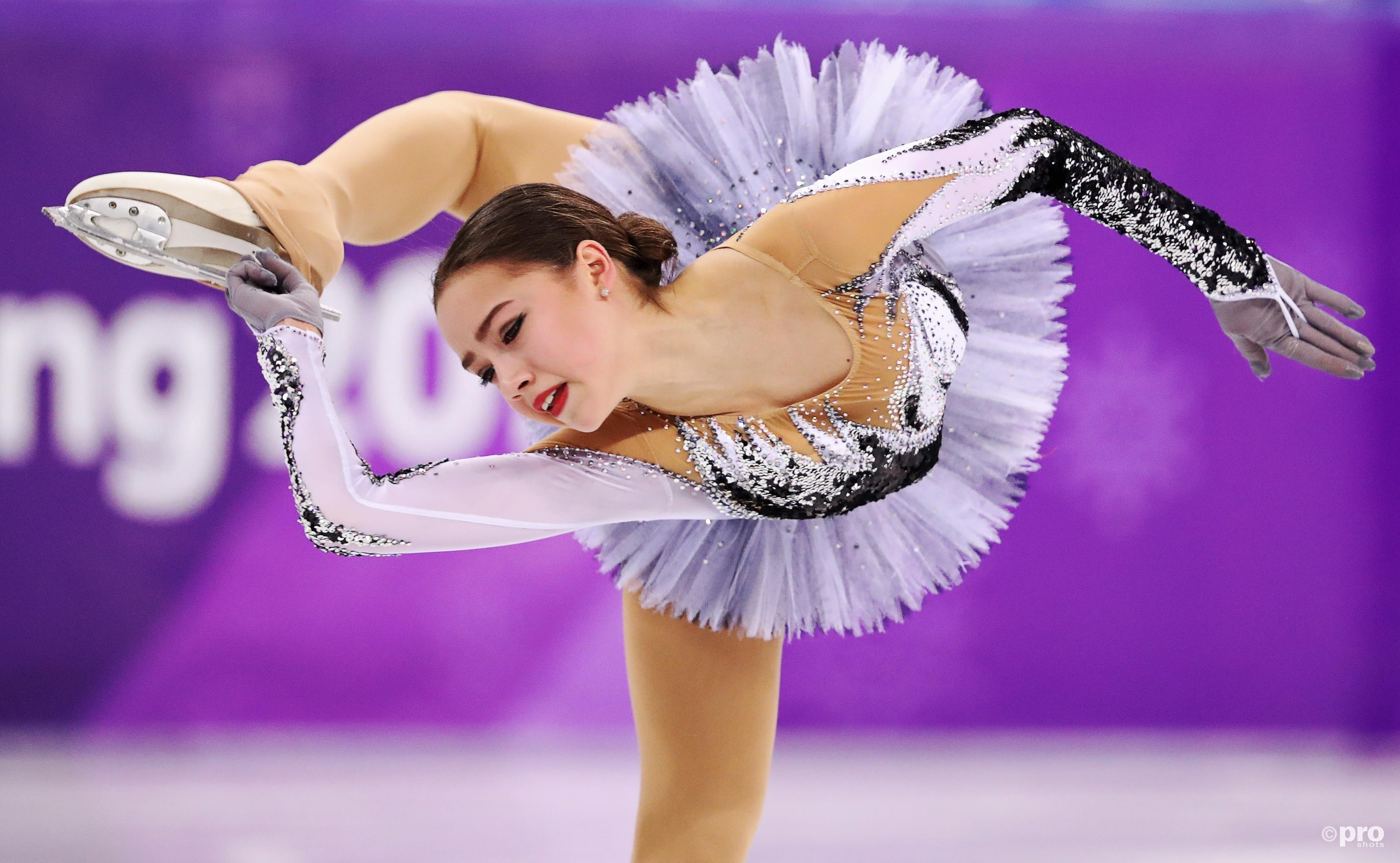 Zagitova tijdens haar recordkür (Pro Shots/Action Images)