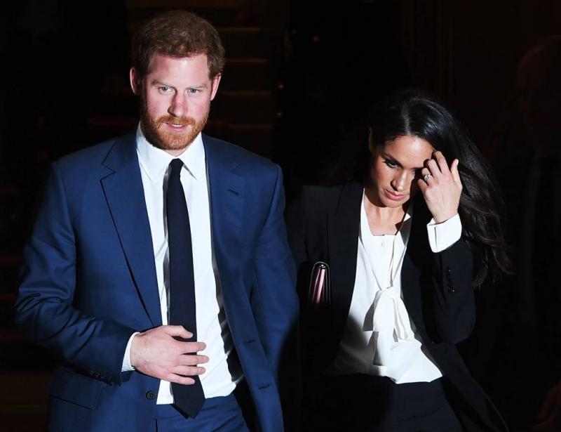 'Groot alarm na poederbrief Harry en Meghan'