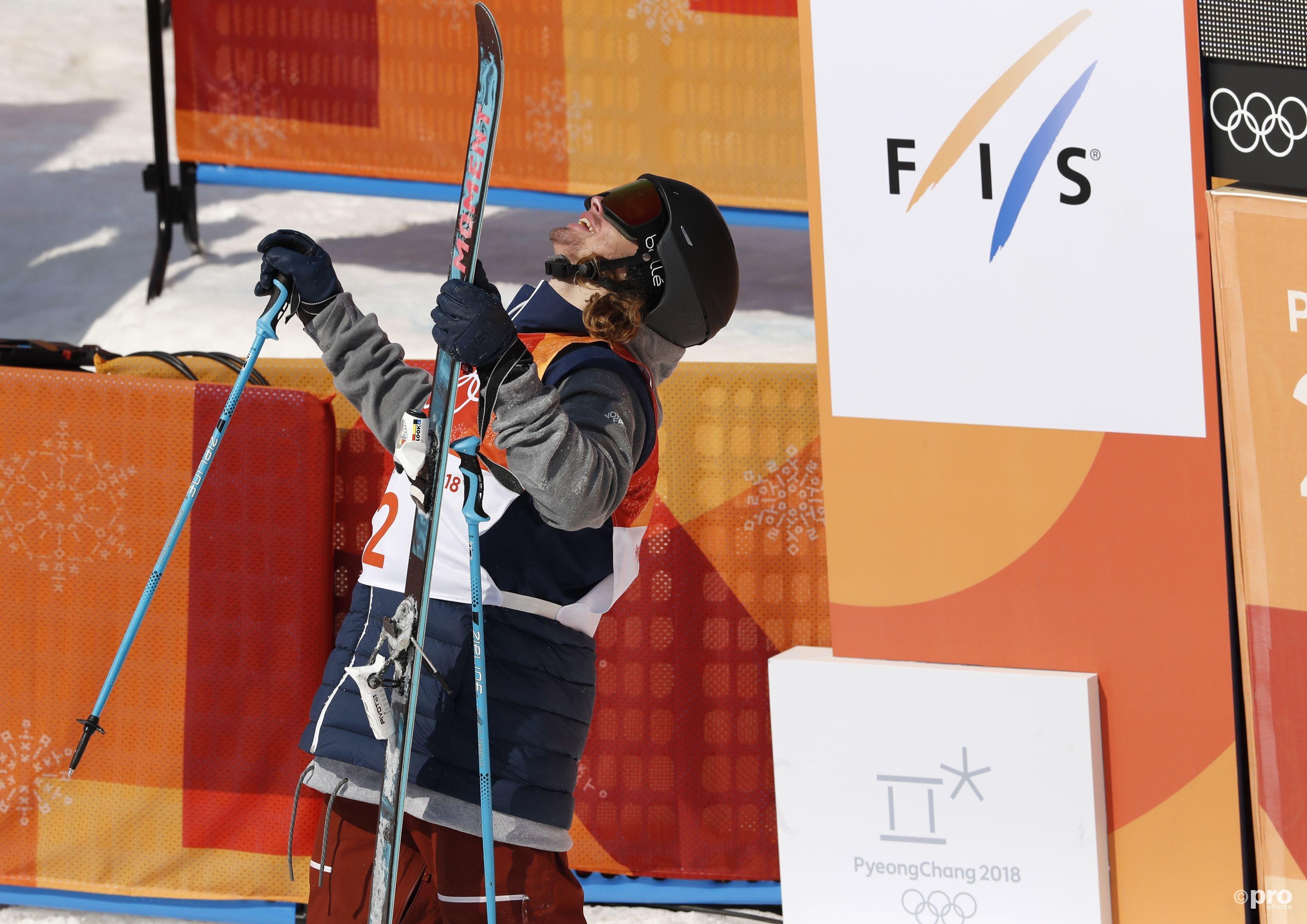 David Wise ziet dat hij zijn olympische titel verdedigd heeft (Pro Shots/Action Images)