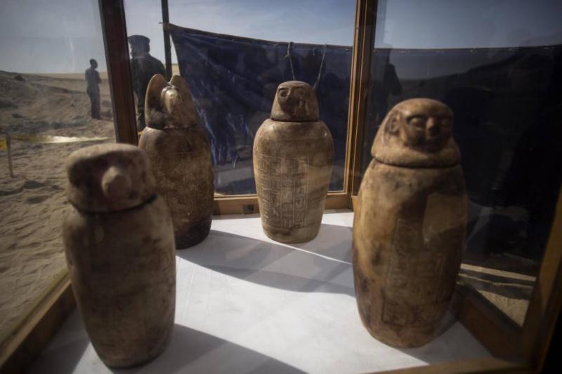 Archeologen vinden necropolis in Egypte
