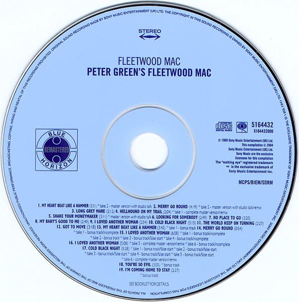 Her-uitgave van het album Fleetwood Mac uit 2004