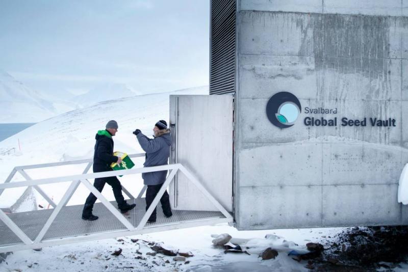Wereldzadenbank krijgt nieuwe ingang
