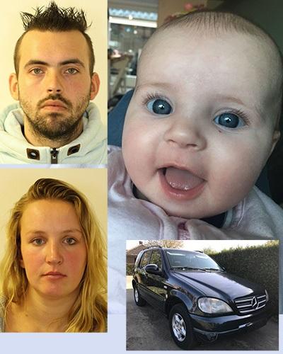 Amber Alert afgegeven voor Baby Hannah (Foto: Politie.nl)