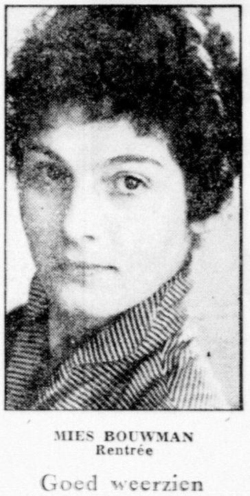Uit De Telegraaf van 30 september 1955