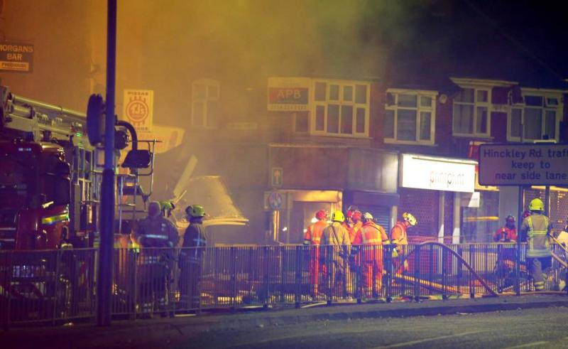 Vier doden bij grote explosie in Leicester