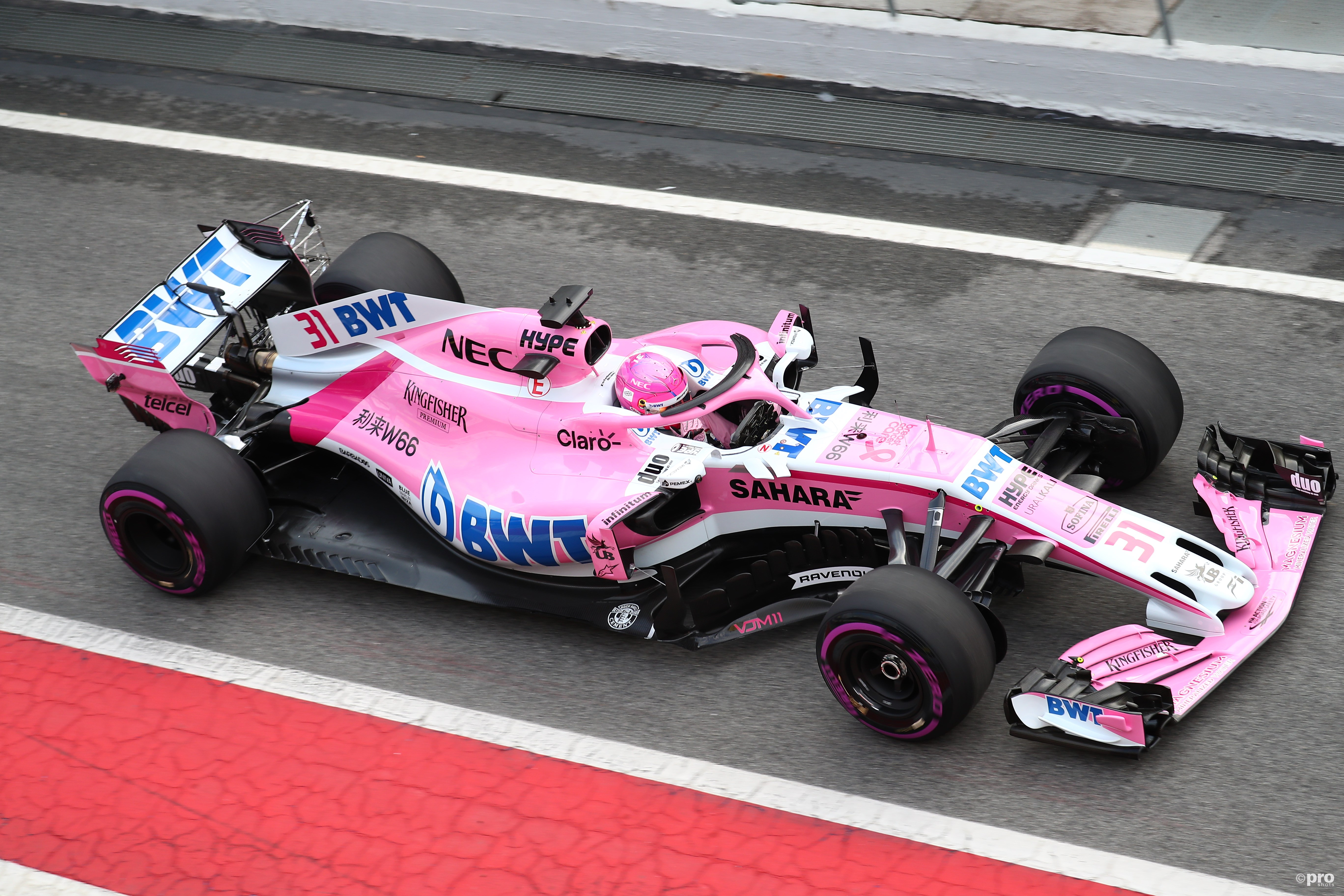 Force India VJM11 (Pro Shots/Action Images)