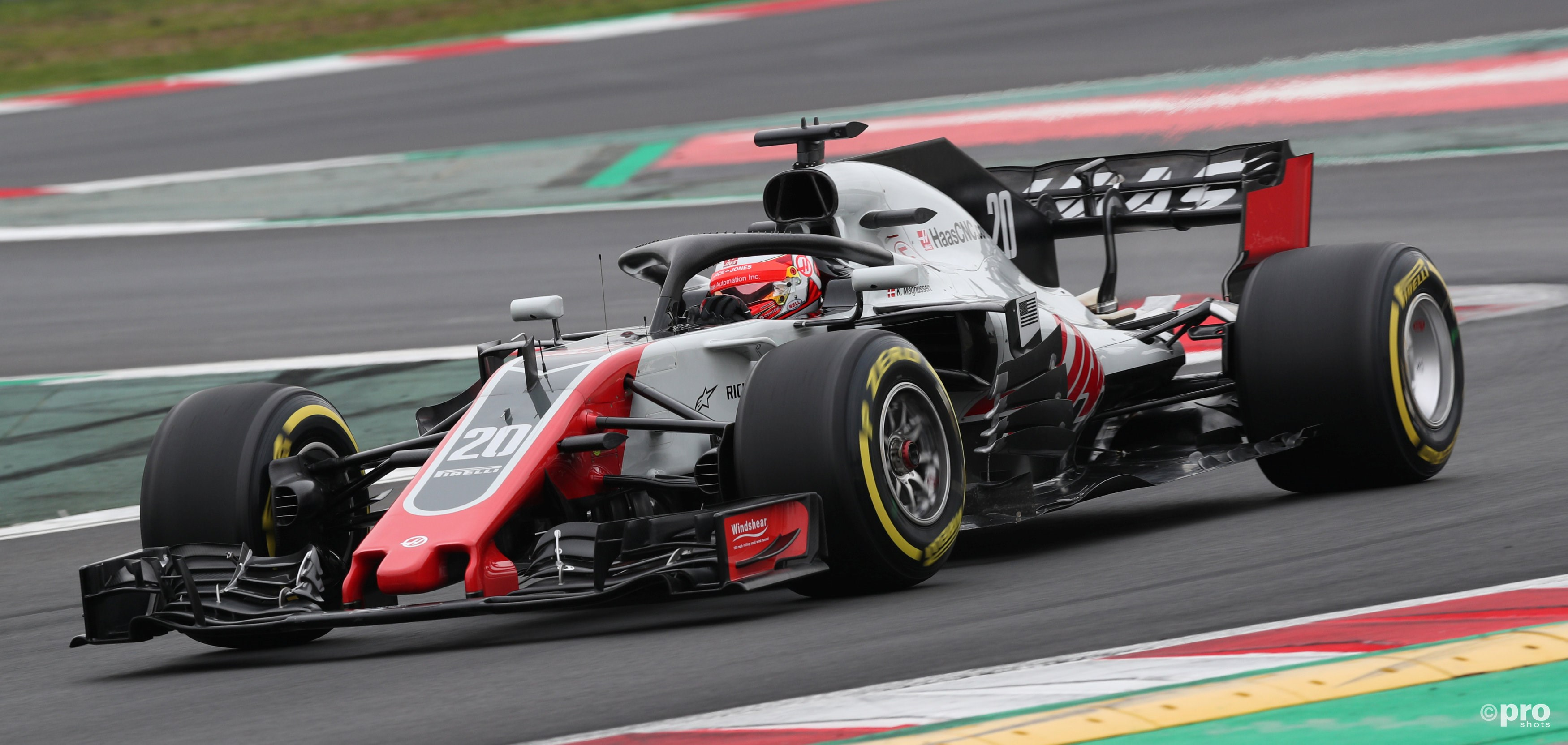 Haas VF-18 (Pro Shots/Action Images)