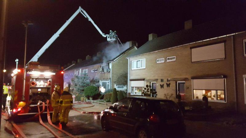 Dodelijk slachtoffer bij brand in Haaksbergen (Foto: Haaksbergen Actueel)