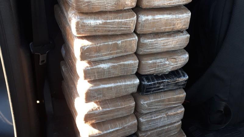 Politie neemt 22 kg coke in beslag (Foto: Politie.nl)