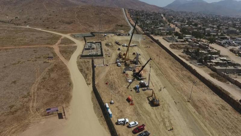 Rechter laat Trump grensmuur bouwen