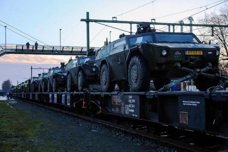 Overleg over Europese militaire snelweg (Foto: Defensie)