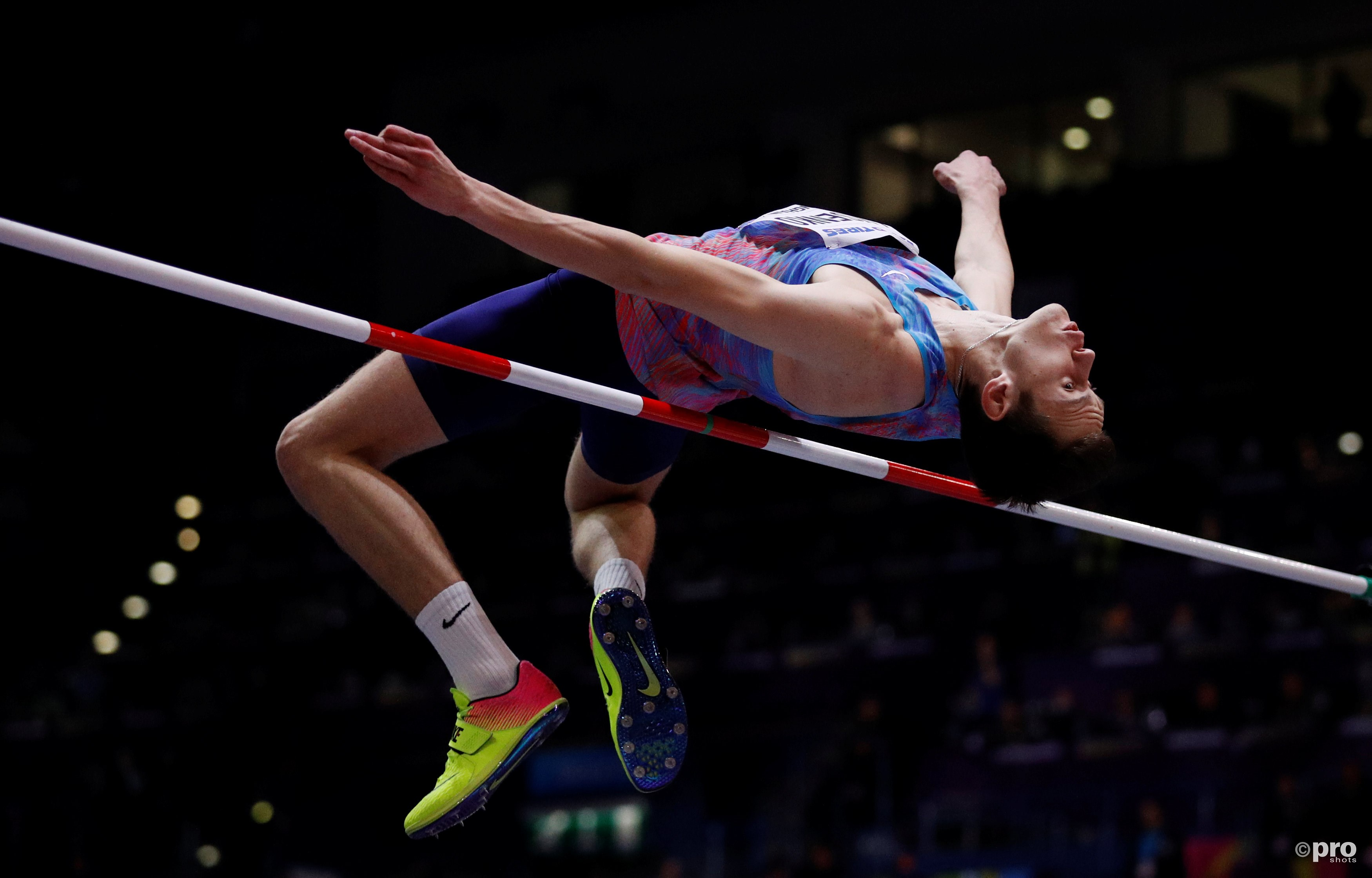 Lysenko in actie tijdens de finale (Pro Shots/Action Images)