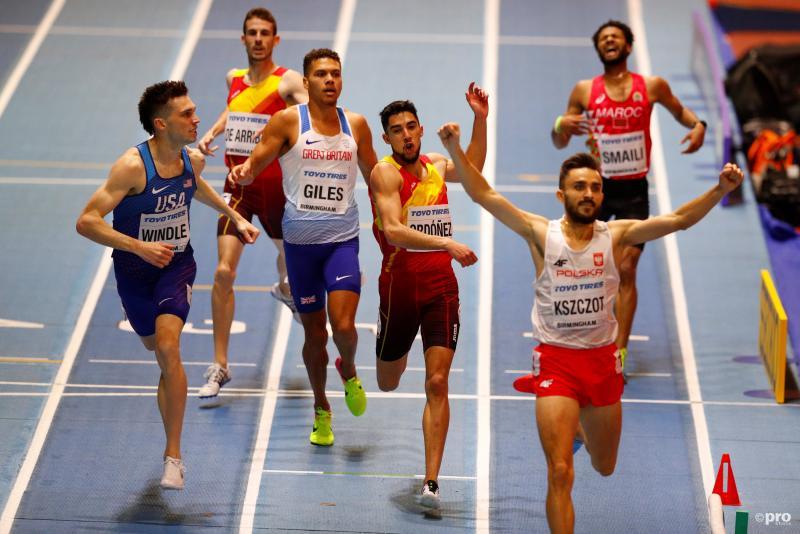 De finish van de 800 meter (Pro Shots/Action Images)